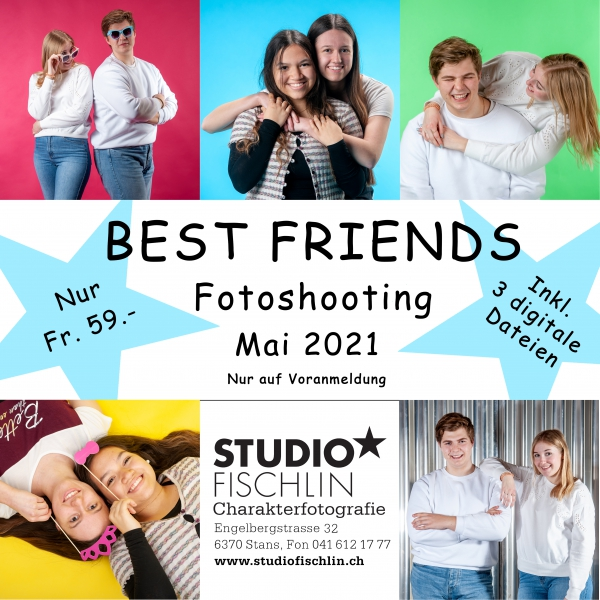 Best Friends Fotoshooting